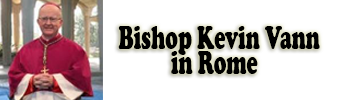 Bishop Kevin in Rome